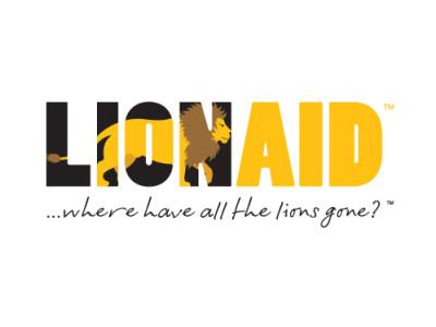 LIONAID Logo client Hairyhand