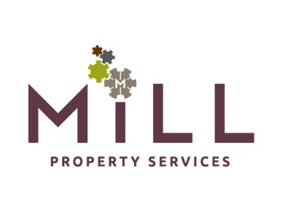 Mill Property Services Logo by Hairyhand
