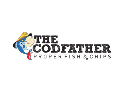 The Codfather logo design by Hairyhand