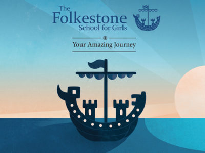 school prospectus design and illustration