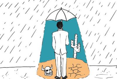 OneMinuteBrief Umbrellas response Hairyhand