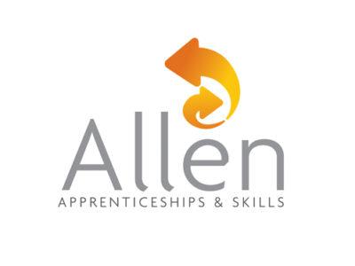 Allen Apprenticeships & Skills Logo